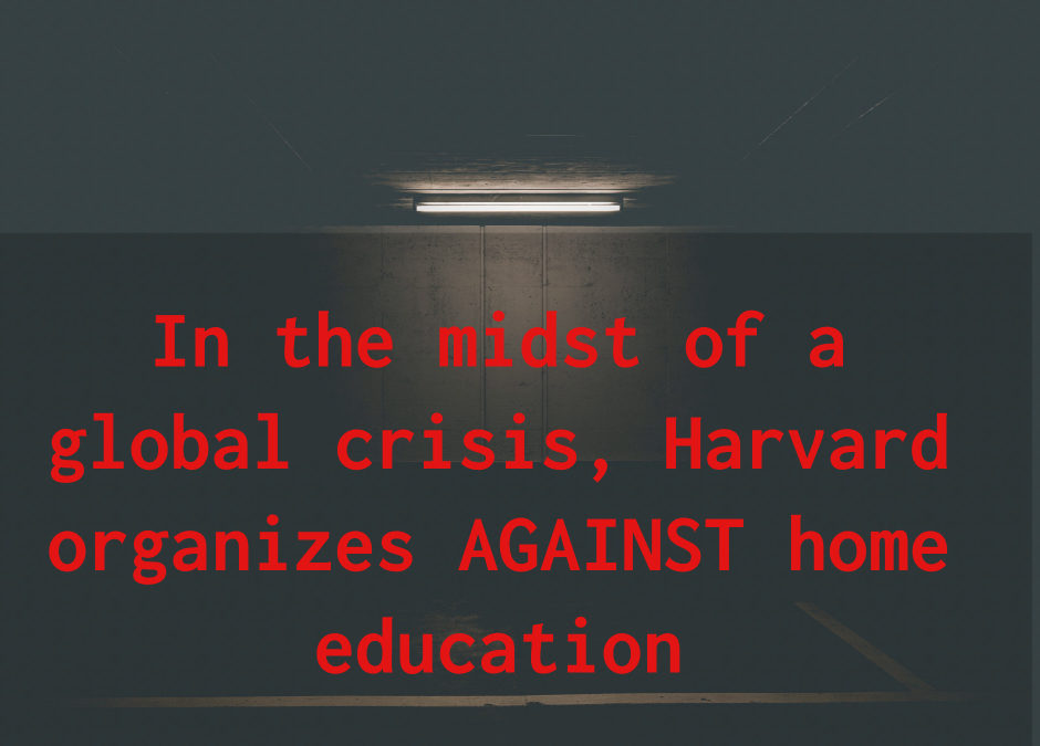 Homeschool Hate Summit Organized by Harvard